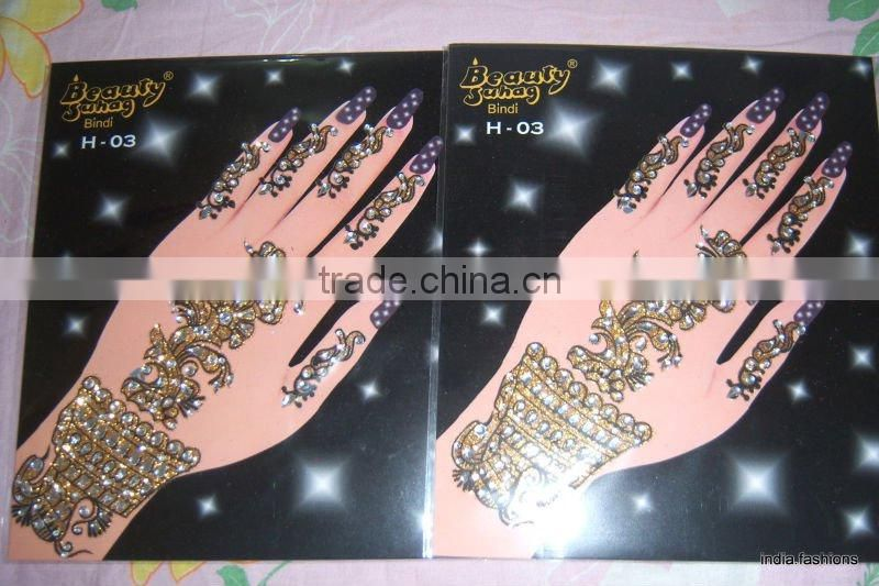 Henna Mehndi Stickers : Mehndi henna bindi sticker paypal of tattoo body