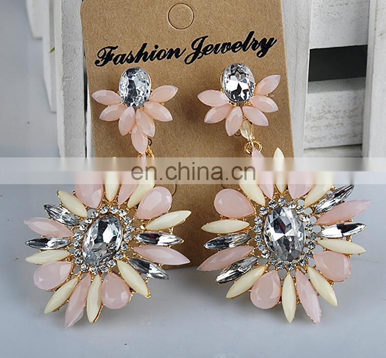 Wholesale 2015 New Design Fashion Gold Earrings For Women