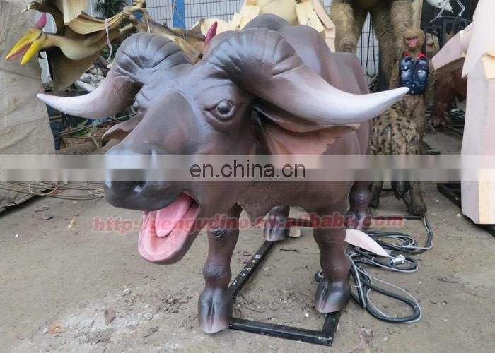 Animal park animated animatronic cattle