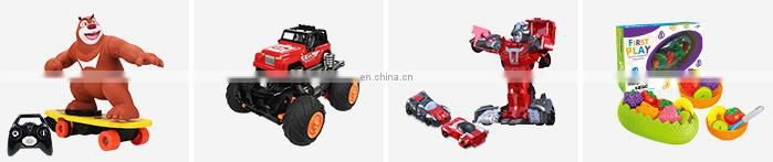 Wholesale Toy Gift Button Press Attacking Deformation Car For Kids