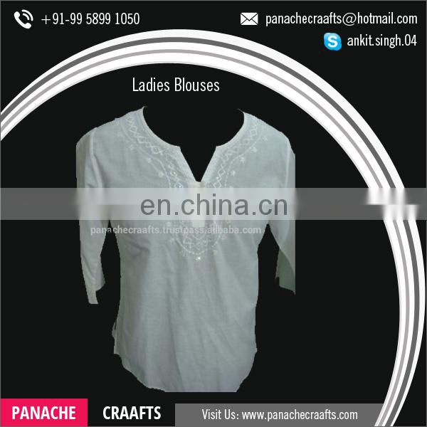New Arrival Latest Style Ladies Fashion Blouses