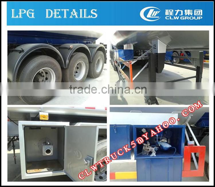 2015 high security 2 axles and 3 axles lpg tank trailer,china lpg tank semi trailer factory