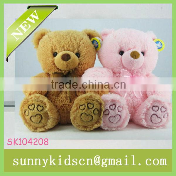 2014 hot selling soft plush bear stuffed plush toy pp cotton stuffed toy