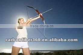 Recurve Bow using High Strength Glassfiber flat bar , Fiberglass Bar for Tradional Bow Limbs