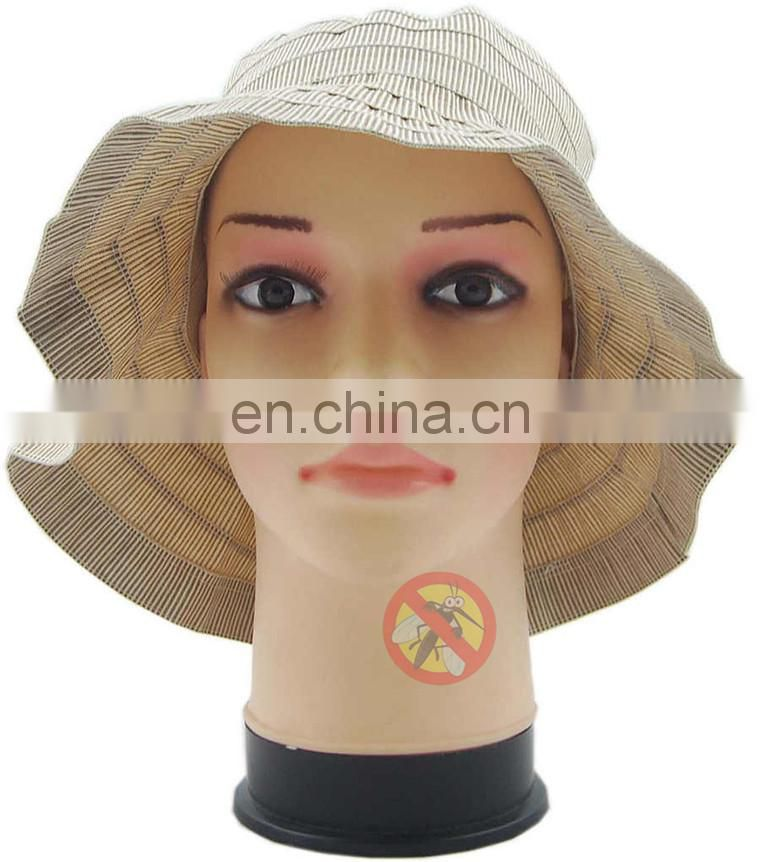 Fashion lady's hat with repellent