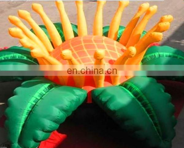 giant inflatable sunflower for event decoration