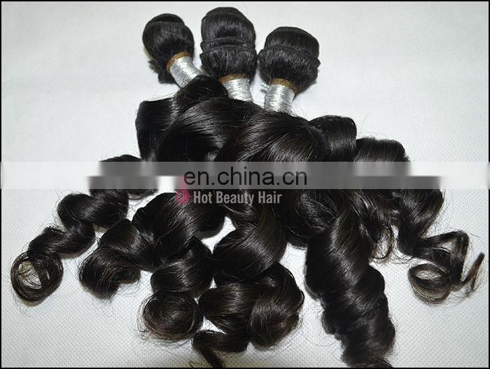Black Wavy Hair Weave 100% Twin Curl Brazilian Virgin Hair Bundles