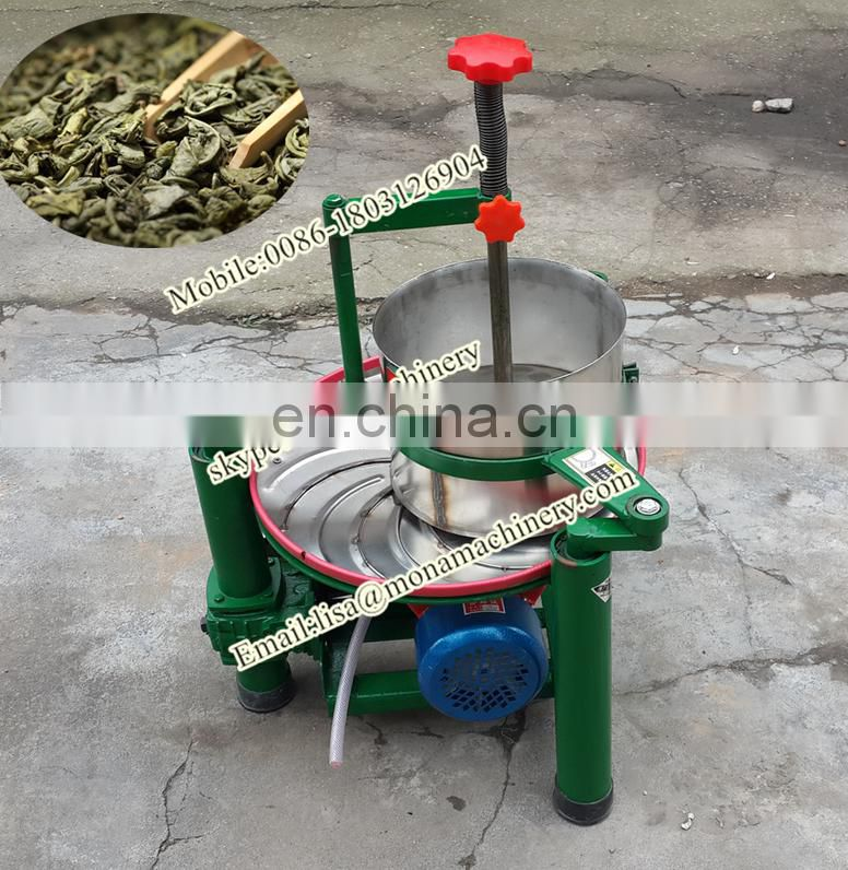 China professional supplier tea maker new design automatic green black tea rolling machine