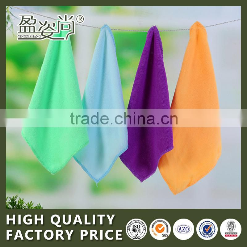 2015 Hand Towel Wholesale Microfibre Small Towel Colorful 100% Cotton Kitchen Wipe
