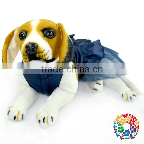 2015 New Arrival Turquoise heated dog clothes Petti Lovable Dogs dog clothes,