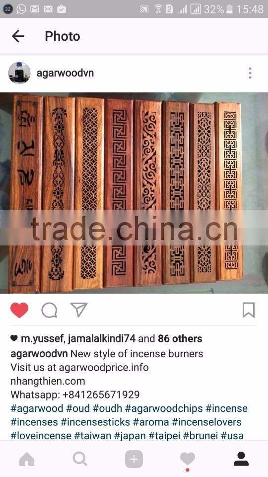 Vietnam Pure OUD Agarwood natural formula incense stick for relax