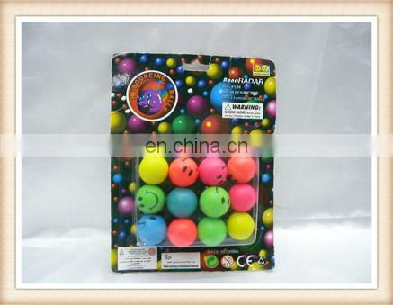 120pcs bounce ball toy, rubber bouncing ball toy