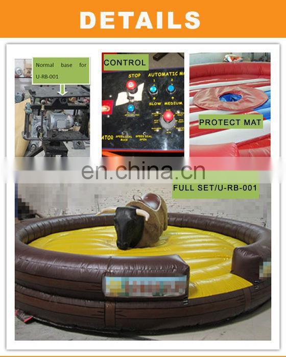 CE Certification Strong Mechanical Bull Game Machine