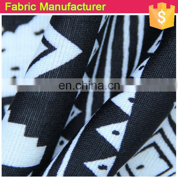 Onway Textile butterfly polyester FDY DTY printed poly jersey with brushed and antiplling for lady garment scarf