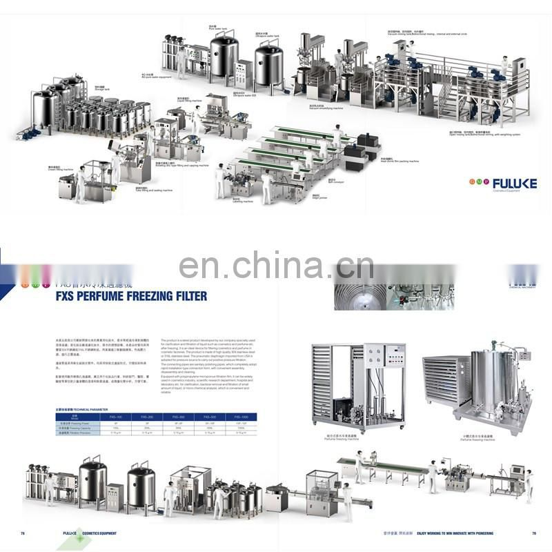 Perfume making equipment filling machine