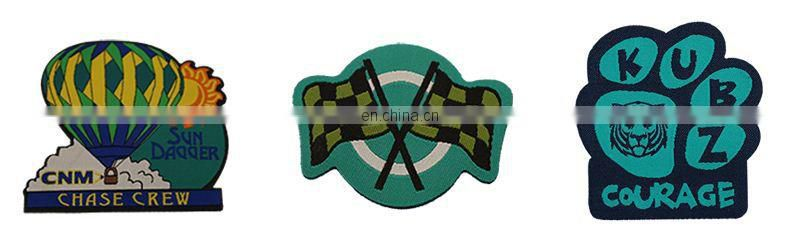 custom security embroidered patch badge