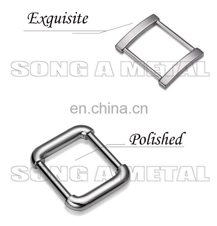 High quality metal round metal belt buckle,buckle D ring for handbag