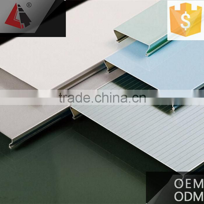 Aluminum outer house grass wall decoration mesh ceiling tiles