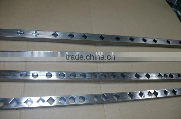 Hydraulic Steel punch press machine / Pipes hole punching