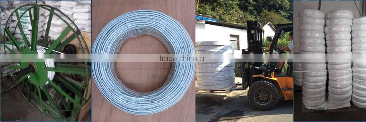 Line kit for electric fence cable