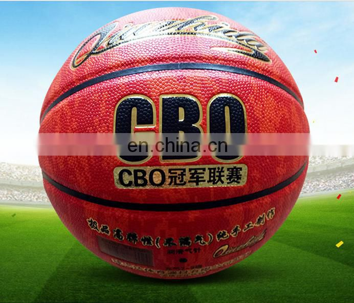 Wholesale custom leather basketball ball size 7