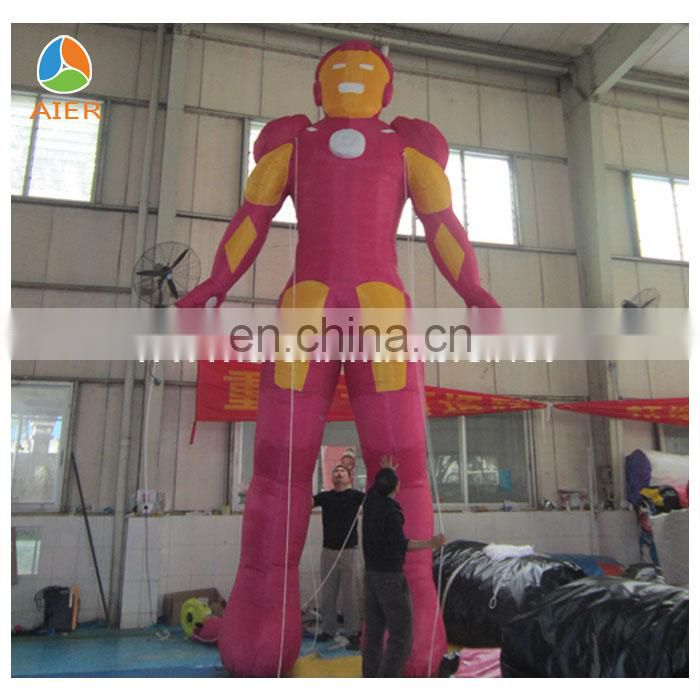 Amazing Inflatable Iron man for advertising