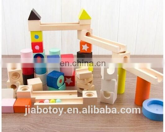 Wooden block education toy building block toys Cube toy
