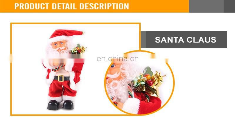 Christmas B/O dancing toy electronic santa