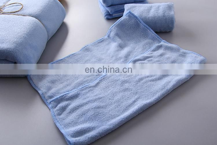 wholesale custom microfiber luxury gift towel sets