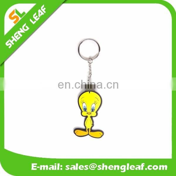 Personalized cool custom 3D soft pvc rubber keychain