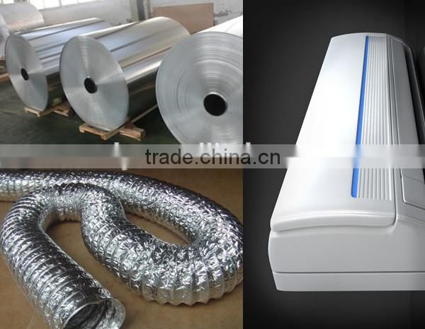 hot selling fin stock aluminium foil roll with cost price