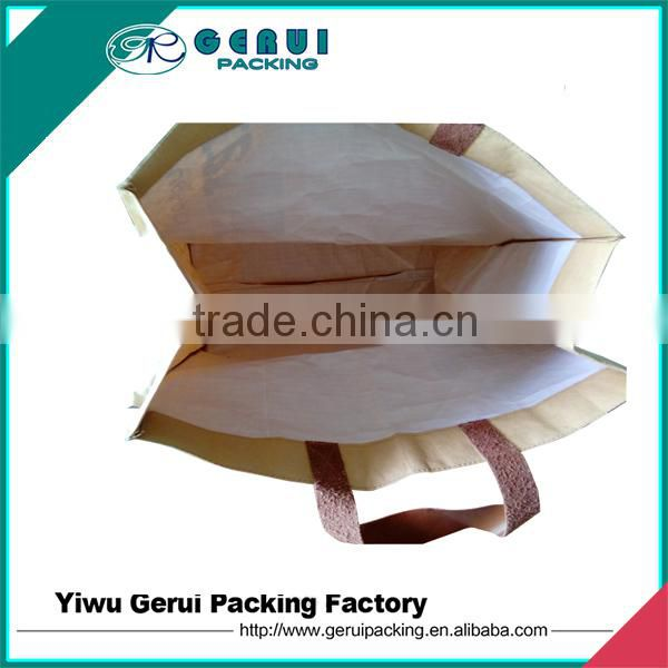 good quality kraft paper laminated pp woven bag