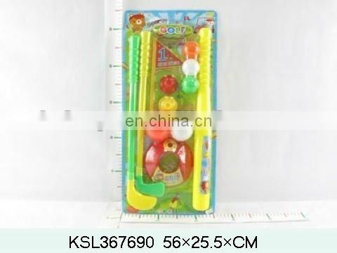 simulation golf set toys