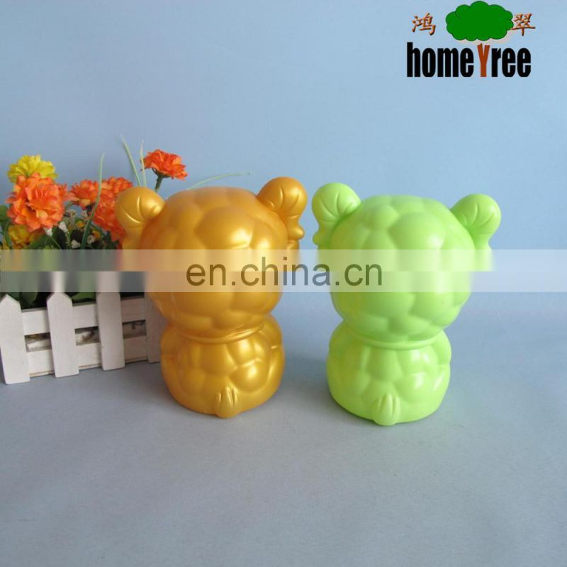 2015 Promotional Plastic Lucky Gold Sheep Coin Bank