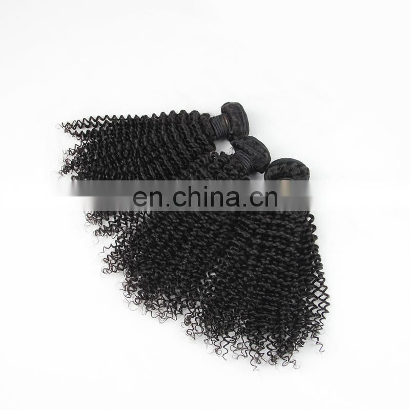 Youth Beauty Hair 2017 best saling 9A Malaysian human hair weaving in kinky curly wholesale price