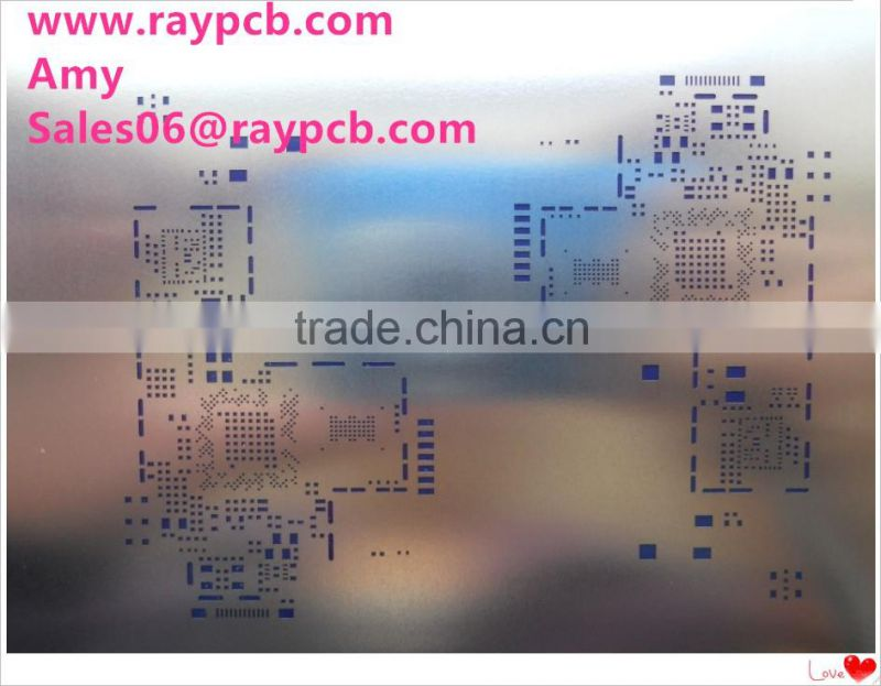 Supermarket security system 8.2mhz dual system eas rf board antenna pcb assembly stencil