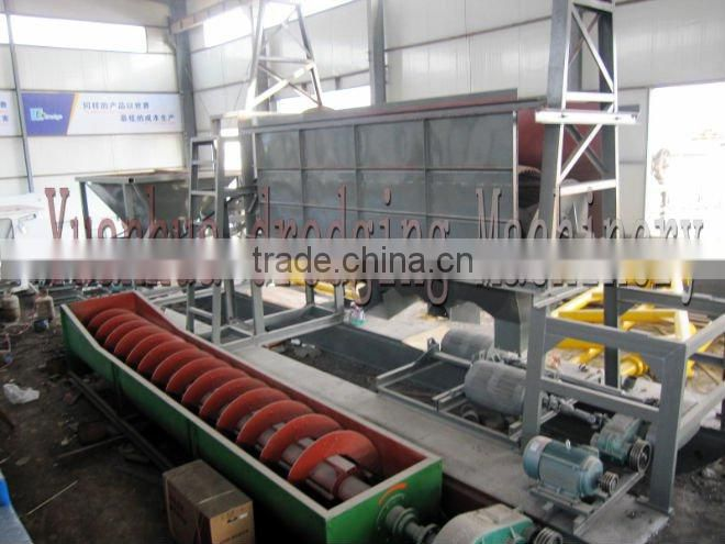High wash rate sand washing mining machine