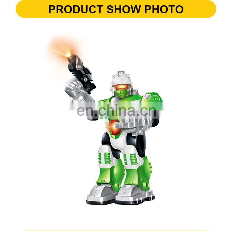 Light And Sound 25cm Walking Robot Toys For Children