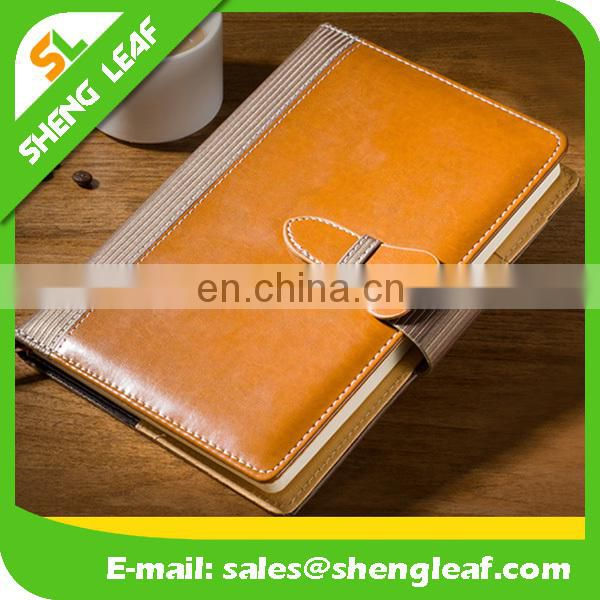 quote for journals;PU/PVC hard cover lined note book; custom logo print on the front book cover