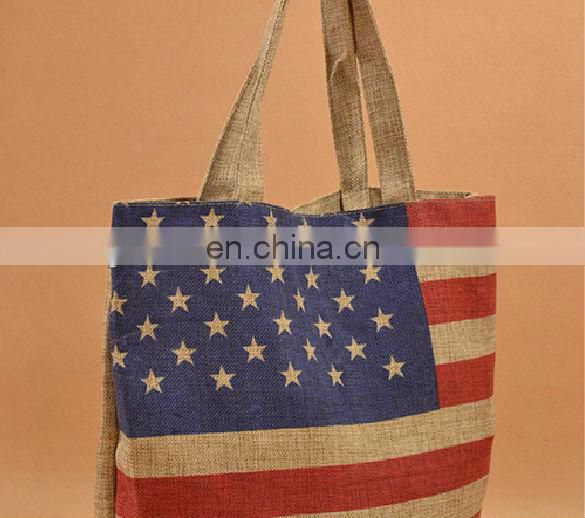 big burlap bags with handles