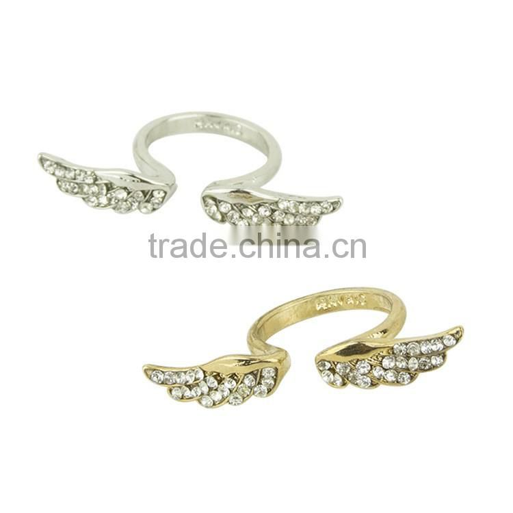 Fashion engagement ring jewellery wing rings