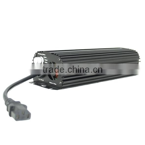 Hydroponic HID Ballast 400W Electronic Dimmable With Cooling Fan Original Manufacturer
