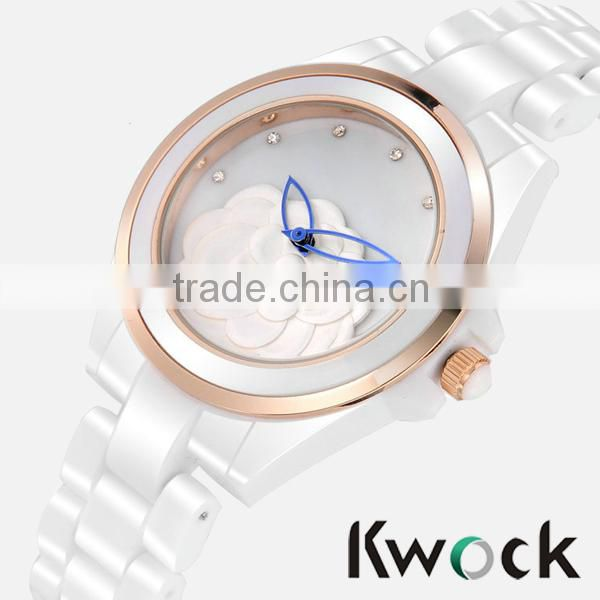Fashion Enamel Watch Factory direct Custom Enamel Ceramic Watch fashion vogue ladies watch