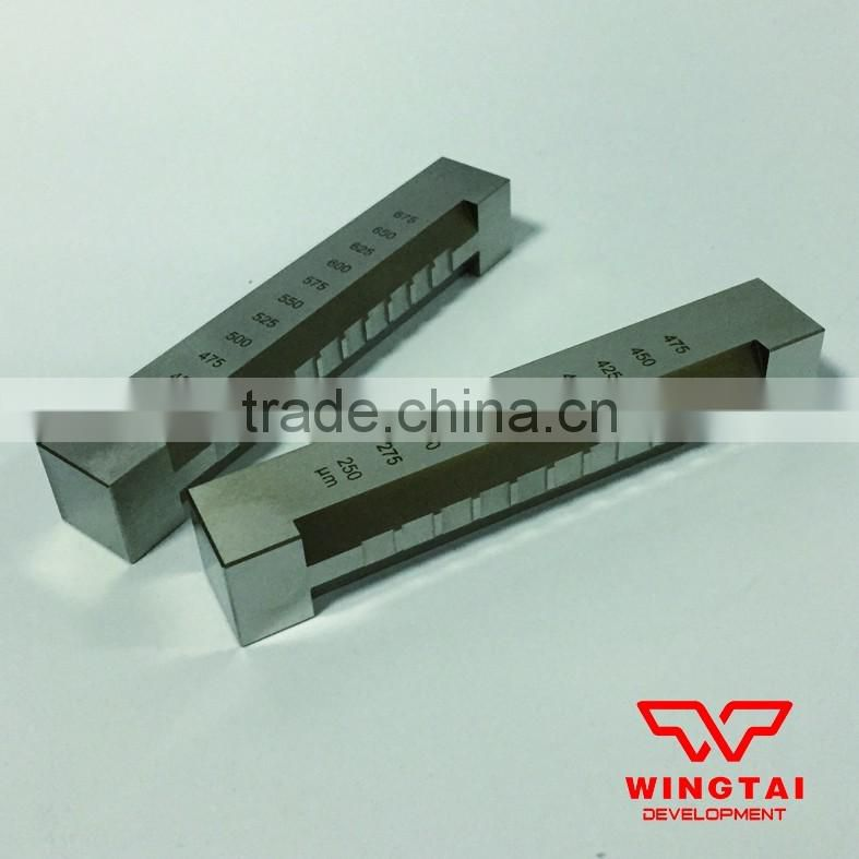 Aaron Drawdown Wire Bar For Ink Coating Thickness Of Laboratory Test