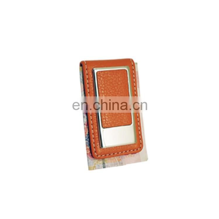 pocket leather money clip custom for holding money