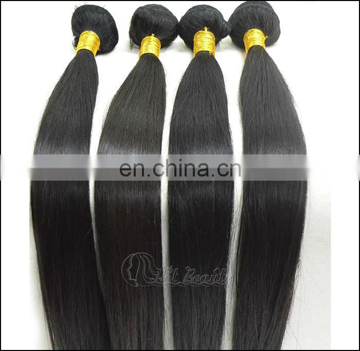 18 inch Peruvian Hair Weave, Unprocessed Human Virgin Hair