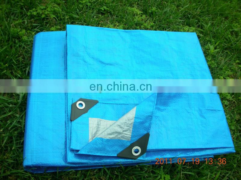 woven fabric pe tarpaulin for camping ground sheet and fly shade Image