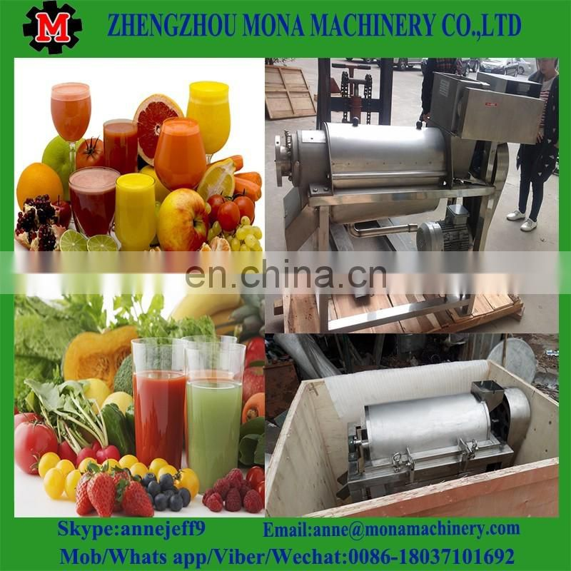 Professional 4 in 1 juicer blender/apple juicer blender/industrial spiral fruit juicer