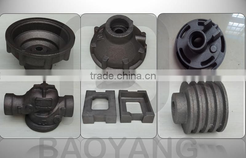 OEM conveyor roller flanged cast iron bearing housing