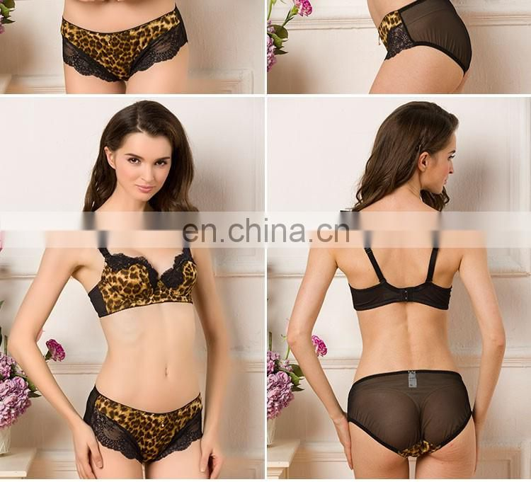 Spandex Convertible Straps Back Closure Sexy Bra And Panty New Design